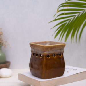 Ceramic Oil Burner Brown