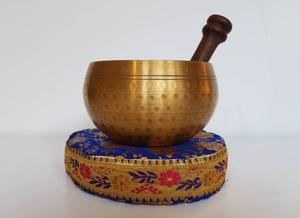 Golden Singing Bowl | Yoga