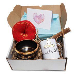 Yoga Gift Set with bowl and mug