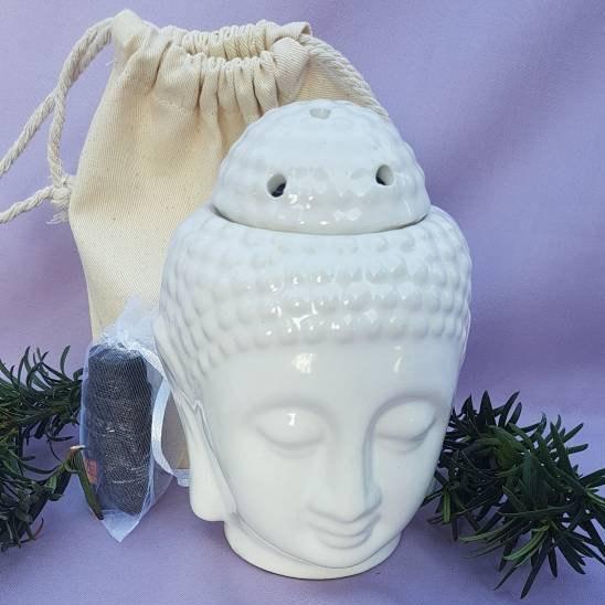 Buddha Oil Burner Ceramic