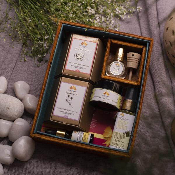 Luxury Ayurvedic Vegan Spa Gift Set for Women