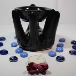 Ceramic Essential Oil burner Hand Design