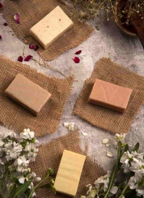 Ayurveda Ayurvedic Herbal Vegan Soap Collection