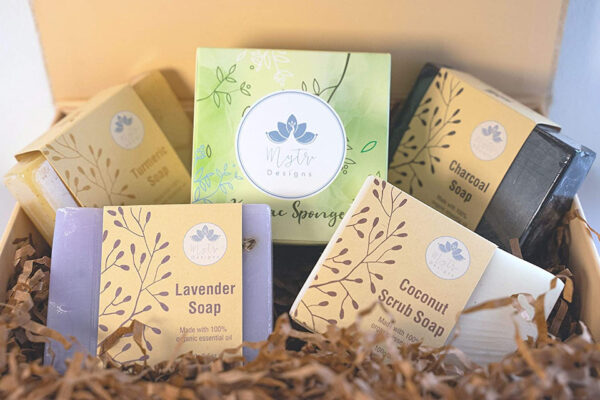 Luxury Vegan Ayurvedic Soap Collection   Self Care Package
