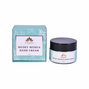 Musky Mahua Oil Hand Cream Jar and Box
