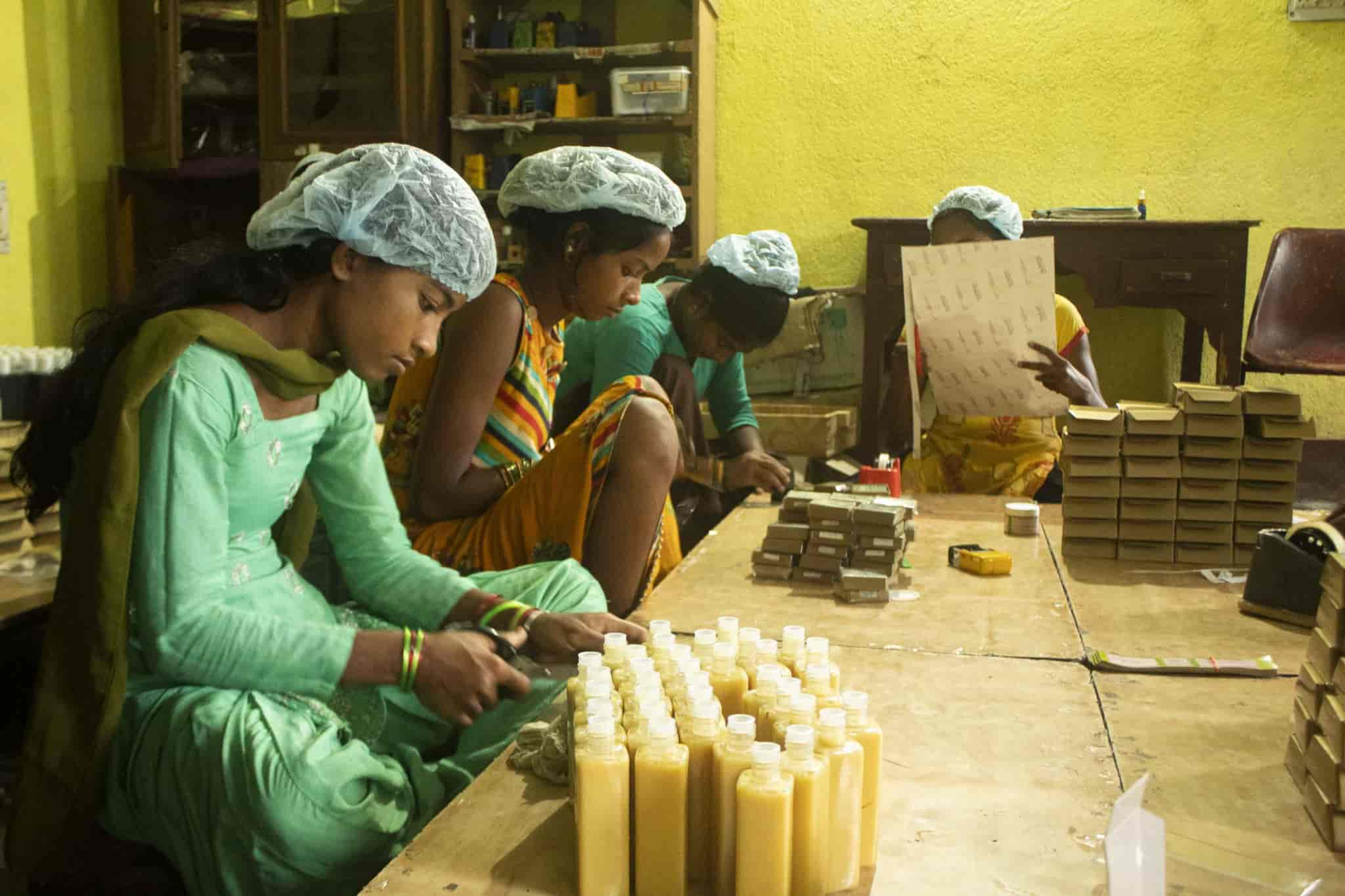 Handmaking soap process