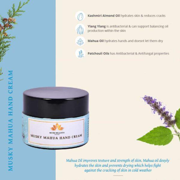 Mahua hand cream ingredients