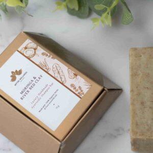 Moringa & Clay Soap Natural Shampoo Bar