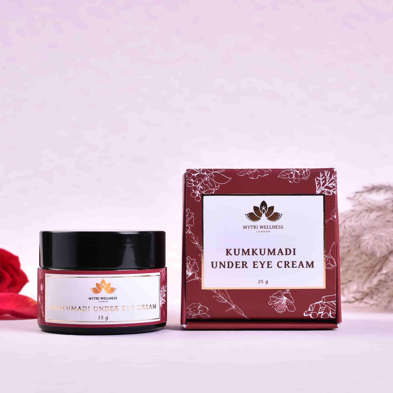 Vegan Natural Kumkumadi Under Eye Cream
