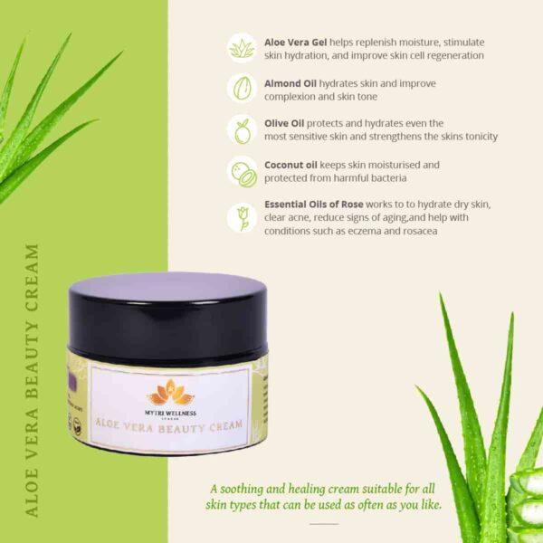 Aloe vera cream ingredients