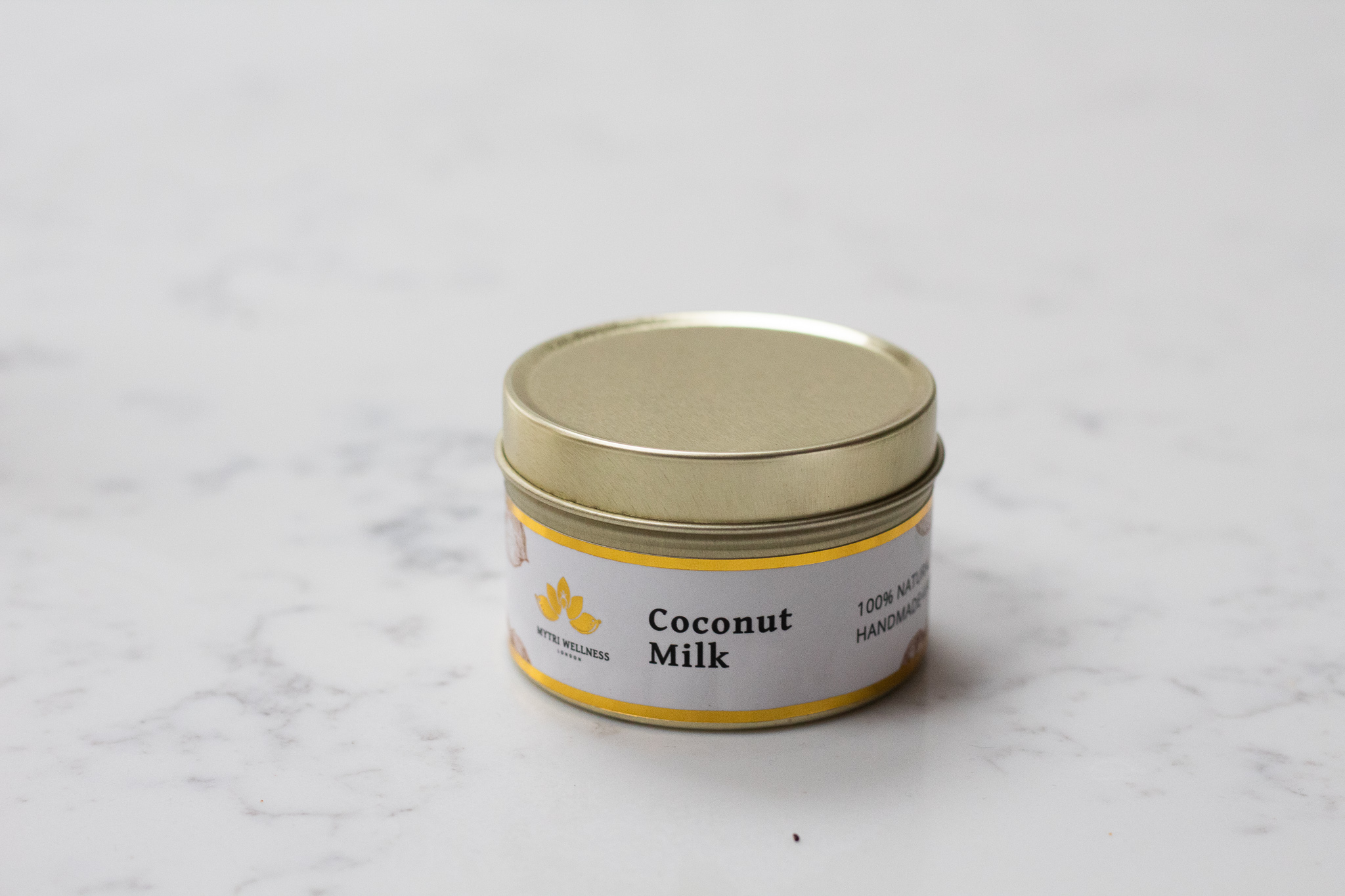 Coconut Soy Wax Scented Candle